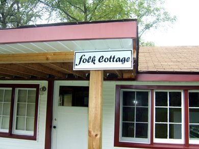 05 - Folk Cottage nameplate