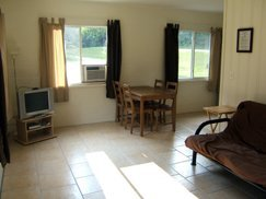 02 - Living room and dining area