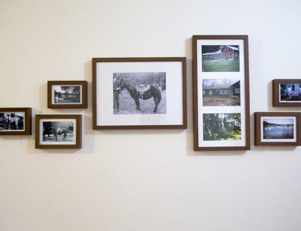 Entryway historic photos